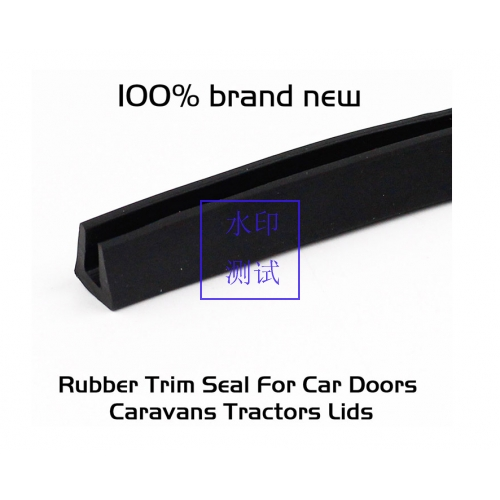 1/16 Black Edge Trim Vinyl Lock Camper Trailer RV Boat Seal