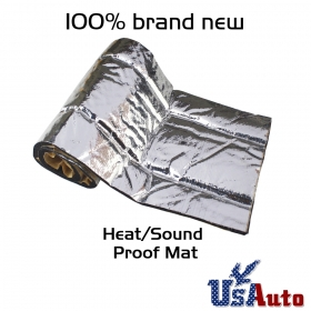 "360""x39\"" Car Heat Shield Deadener Auto Turbo Exhaust Muffler Sound Insulation"