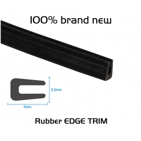 """EdgeSeal"" Universally 1/10"" X 1/5"" Weather Stripping Car Auto Window Door Protector Strip #55"
