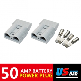2x SB50A For Caravan 4WD Forklist Trailer Battery Power Terminal Plug Kit Towing