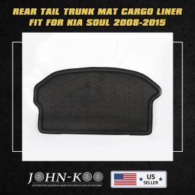 Waterproof Car Boot Cargo Trunk Mat Liner Floor Carpet For Kia Seoul 2008-2015