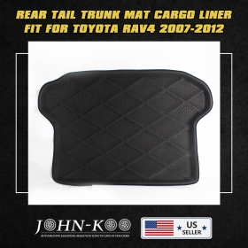 Carpet Guard Cover Crash Rear Trunk Mat Cargo Liner For Toyota RAV4 2013-2014