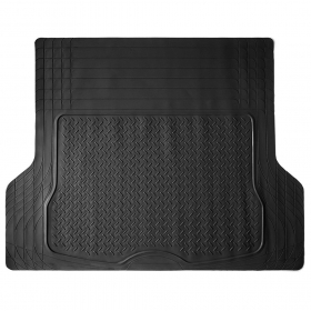 Universal All Weather Heavy Duty Black Cargo Trunk Mat/Floor Mat for Truck Car Van SUV Easily Trim to fit