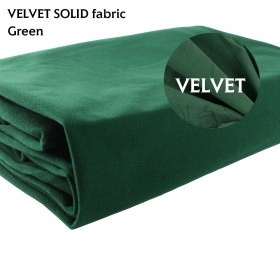 "Green Repair Craft Material Upholstery Velvet Fabric DIY Dressmaking Cushion 58"" x 20"""