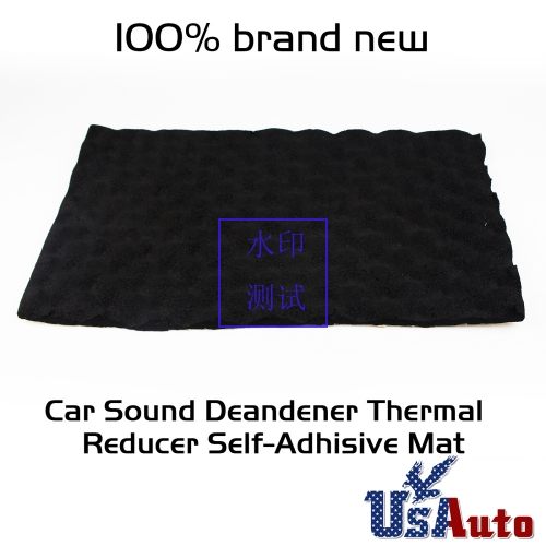 "590mil Black 40""X18"" Foam Style Damping Sound Deadener Sheet Car Noisy Control"