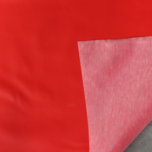 Auto Car Marine Boat Upholstery Outdoor Decorate Premium Vinyl PVC Fabric Faux Leather Red Color 12inch x 54inch 1/3 Yard