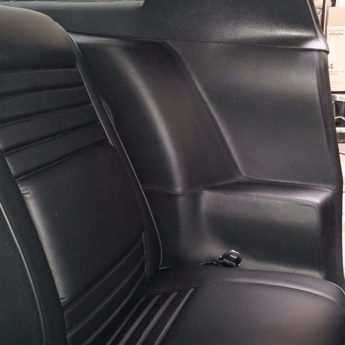 180inch x 55inch 5 yard Auto Car Marine Boat Upholstery Outdoor Decorate Premium Vinyl PVC Fabric Faux Leather BLACK Color